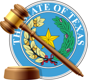 Litigation graphic - seal of Texas